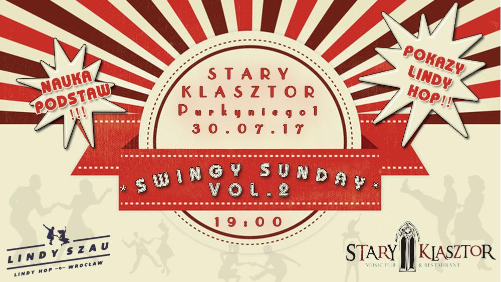 SWINGY SUNDAY! vol. 2 @ Dziedziniec Starego Klasztoru | Wrocław | Województwo dolnośląskie | Polska