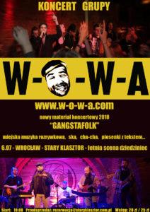 LETNIA SCENA: W-O-W-A BAND @ RESTAURACJA STARY KLASZTOR