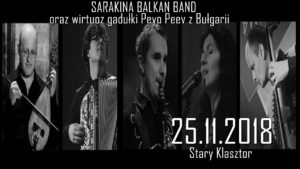 SARAKINA BALKAN BAND @ RESTAURACJA STARY KLASZTOR