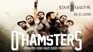 O'HAMSERS @ RESTAURACJA STARY KLASZTOR