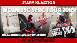 WOLNOŚĆ SERC TOUR @ STARY KLASZTOR