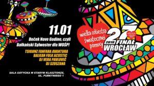 WOŚP: Doček Nove Godine @ STARY KLASZTOR | Wrocław | Województwo dolnośląskie | Polska