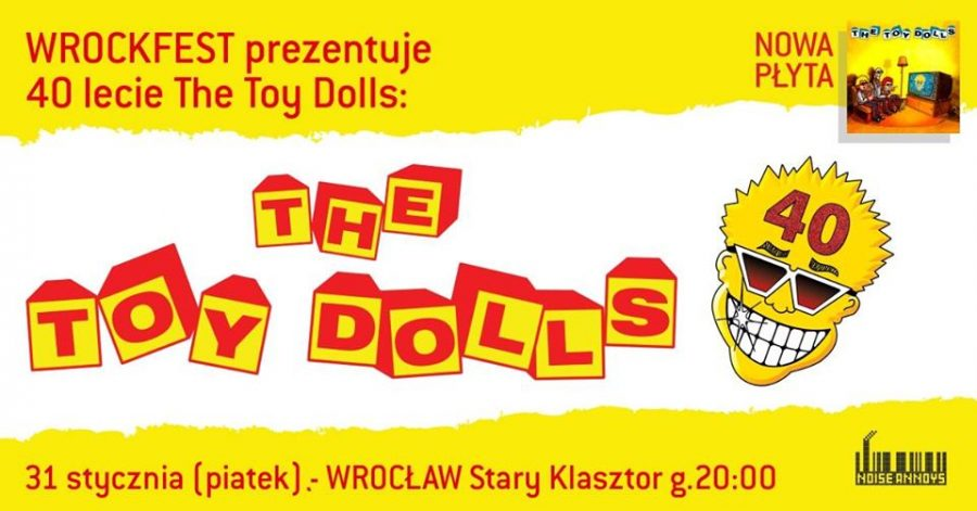 THE TOY DOLLS – sold out