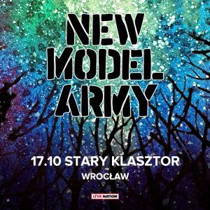 New Model Army @ STARY KLASZTOR | Wrocław | Województwo dolnośląskie | Polska