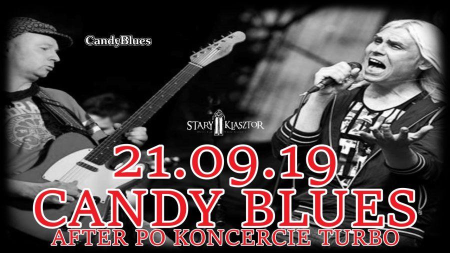 After show w Starym Klasztorze – CANDY BLUES