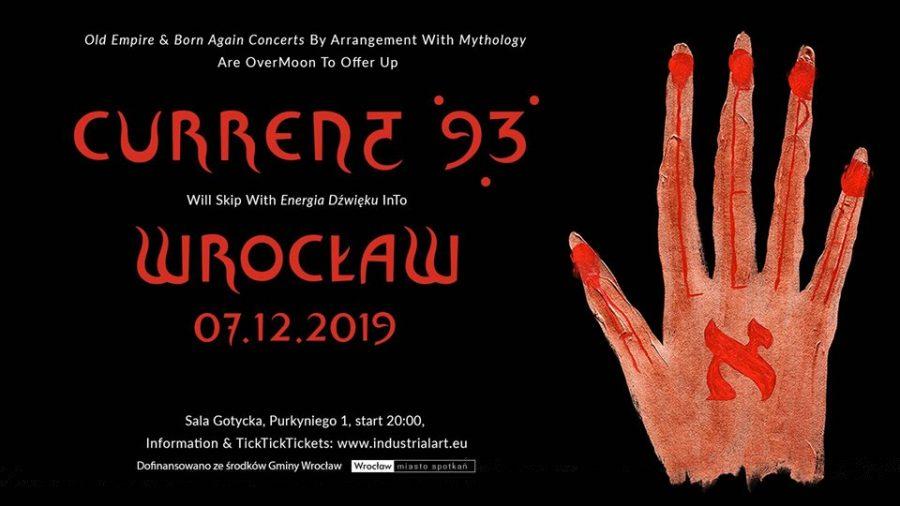 Current 93 at Energia Dźwięku 2019