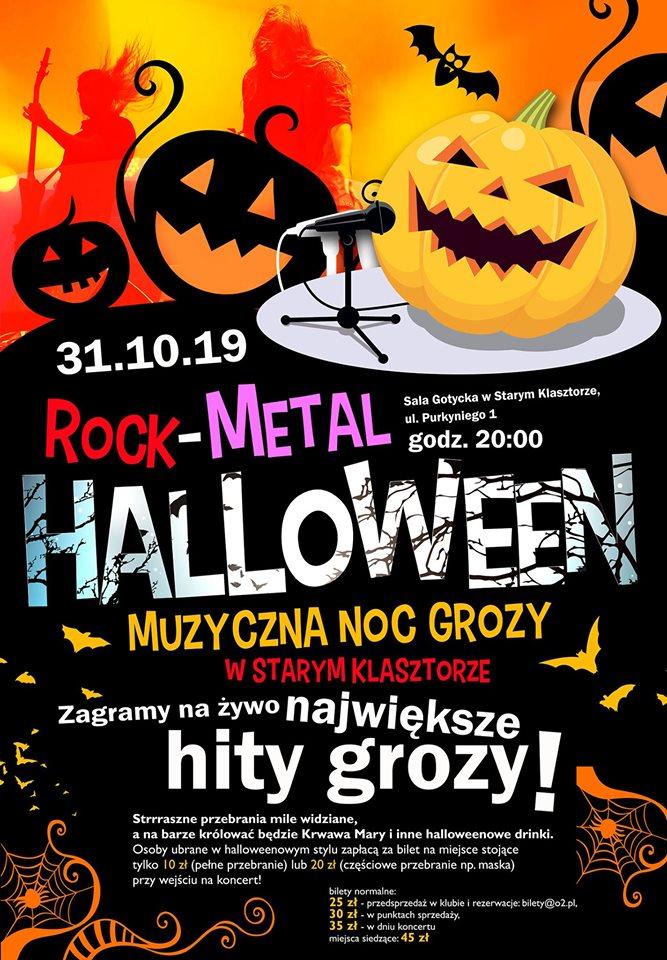 Rock-Metalowe Halloween