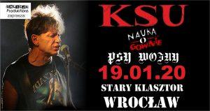 KSU, Nauka o Gównie , Psy Wojny @ STARY KLASZTOR | Wrocław | Województwo dolnośląskie | Polska