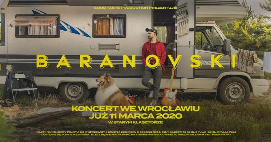 KONCERT PRZENIESIONY:  Baranovski