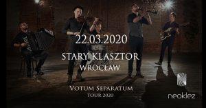 KONCERT PRZENIESIONY - NeoKlez @ STARY KLASZTOR | Wrocław | Województwo dolnośląskie | Polska
