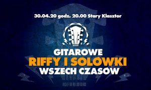 Gitarowe riffy i solówki wszech czasów @ STARY KLASZTOR | Wrocław | Województwo dolnośląskie | Polska