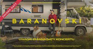 ZMIANA MIEJSCA I DATY: Baranovski @ STARY KLASZTOR | Wrocław | Województwo dolnośląskie | Polska