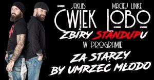 SALA WITRAŻOWA: Zbiry StandUpu: Ćwiek i Lobo @ SALA WITRAŻOWA | Wrocław | Dolnośląskie | Polska