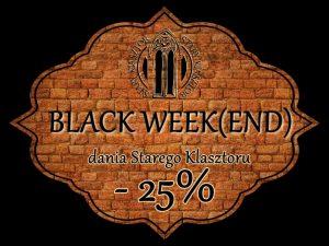 -25% Z UBER EATS BLACK WEEK(END) @ STARY KLASZTOR | Wrocław | Dolnośląskie | Polska