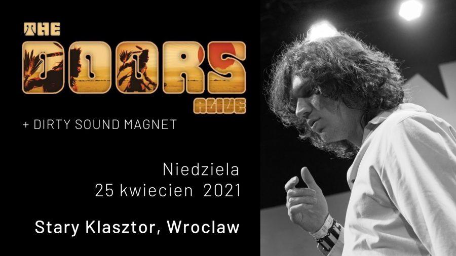 The Doors Alive: Uwaga! Koncert przeniesiony